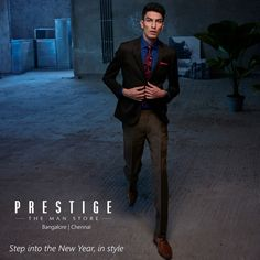 A fitted suit will never go out of style year on year. So sport one this #NewYearsEve! Be the centre of attention at the party and dress in #PrestigeTheManStore.