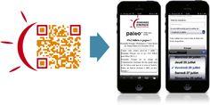 www.asimove.com | Romande Energie : Création d'un QR Code customisé aux couleurs de la marque, apposé sur les supports de communication print pour le Paléo Festival, et redirigeant vers un formulaire mobile permettant de recevoir des invitations gratuites au festival.