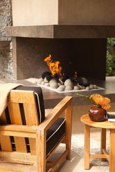 Patio Fire Pits And Fireplaces Design, Pictures, Remodel, Decor and Ideas - page 10