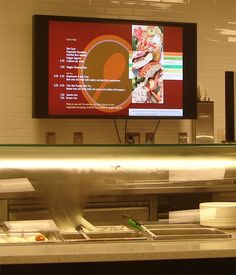 Dynamic Digital Signage in Quick Service Restaurants: Food for Thought in Utilizing Electronic Menu Systems