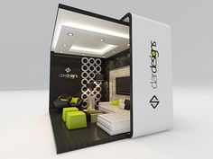 exhibition design by Amr Atya, via Behance Exhibition Stall Design, Exhibition Space, Exhibit Design, Exhibition Stands, Exhibition Ideas, Trade Show Booth Design, Display Design, Web Banner Design, Pop Design