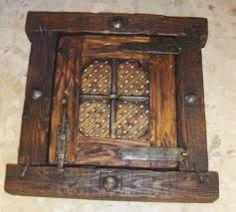 Resultado de imagen para ventanas rusticas antiguas