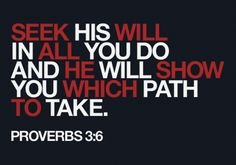 Seek all He which will show to