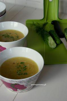 Proste Potrawy: Zupa z zielonych ogórków