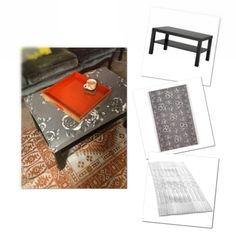 Coffee table ideas on pinterest coffee tables painted for Coffee tables under 30