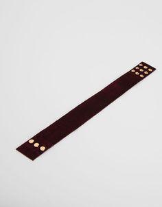 Velvet choker necklace - Accessories - New - Woman - PULL&BEAR Poland