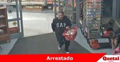 Policía arresta a hombre responsable de robo a HyVee  Lee la nota completa: www.quetal.us/?p=5060