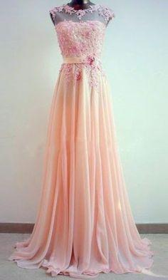 Gorgeous Lace floral Embroidery Long Formal Dress KSP282