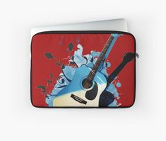 « Blue guitar - guitare - musique- instrument » par LEAROCHE Instruments, Telephone, Iphone, Guitar, Music, Musical Instruments, Phones, Phone, Tools