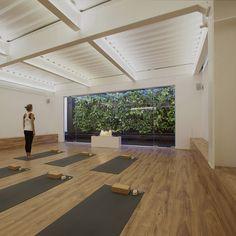 Yoga Studio Interior, Yoga Studio Home, Yoga Studio Decor, Yoga Decor, Yoga Room Design, Yoga Studio Design, Pilates Studio, Home Yoga Room, Group Meditation