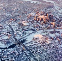 south minneapolis mn winter at night - Google Search