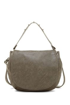Flap Hobo Bag with Crossbody Strap $39