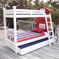 American Barn Bunk Bed from PoshTots