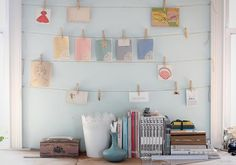 jersey ice cream co. | styling & photos: Tara Mangini | clothesline art photos for the office