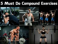 5 Must Do Compound Exercises | GYM FLOW 100