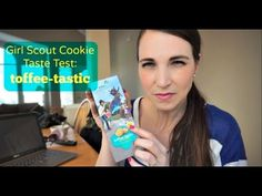 Toffee-Tastic! | Girl Scout Cookies | MamaKatTV - YouTube