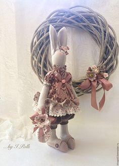 """Купить По мотивам """"Кроля Эсти..."""" - зайка, зайка девочка, крольчиха, заяц тильда"""