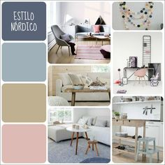 Tu paleta de colores según el estilo decorativo | dintelo.es Vintage Interior Design, Interior Design Living Room, Bedroom Colors, Room Decor Bedroom, Style Salon, Design Apartment, Home Staging, Colorful Interiors, Home Accessories
