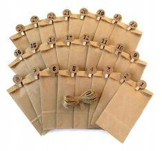 Kalendarz Adwentowy Torebki Eko Girlanda Sznurek 7586141661 Oficjalne Archiwum Allegro Allegro