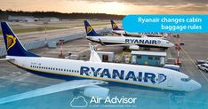 Ryanair changes cabin baggage rules Baggage, Aircraft, Cabin, Aviation, Plane, Airplane, Planes, Cottage, Wooden Houses