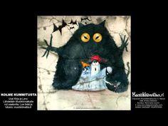fi -musiikissa on kantava voima! Snowman, Disney Characters, Fictional Characters, Halloween, Painting, Youtube, Art, Art Background, Painting Art