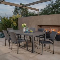 Silverlake 7-piece Dining Set by Mission Hills