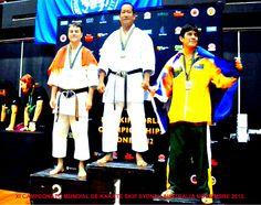 XI Campeonato Mundial de Karate Do Sydney Australia 2012.