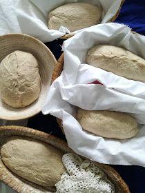 Truhlice: Podmáslový kváskový chléb - recept
