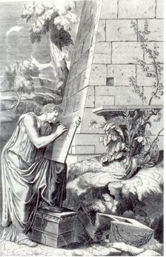 Den korintiske søjles fødsel