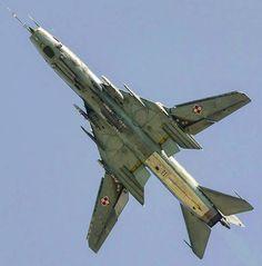 Sukhoi Su-22M4 of Polish Air Force .