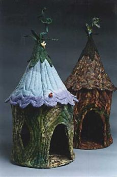 Pattern for Fairy Houses