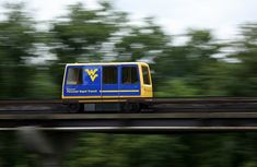 Is it a bird? Is it a plane? No, it's Personal Rapid Transit! The University of West Virginia in Morgantown