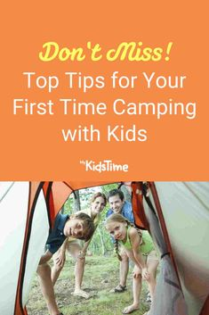 Top Tips for Your First Time Camping with Kids – Mykidstime