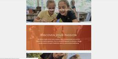 An example of panels in school website design trends. Pop Website, Private School, Site Design, Discover Yourself, Design Trends, Education, Creative, Top, Fashion Design