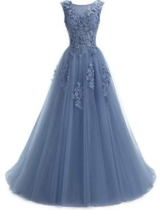 online shopping for Ever Girl Women's Sweep Lace Appliques Scoop Collar Tulle A-Line Prom Dresses from top store. See new offer for Ever Girl Women's Sweep Lace Appliques Scoop Collar Tulle A-Line Prom Dresses A Line Prom Dresses, Prom Dresses Online, Homecoming Dresses, Formal Dresses, Dresses Dresses, Perfect Prom Dress, Women's Fashion Dresses, Lace Dress, Tulle Gown