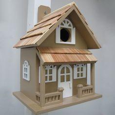 Home Bazaar HB-7001 Nestling Series Country Cottage Bird House - Outdoor Living Showroom