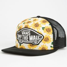 61ce6c4e41822 Vans Beach Girl Womens Trucker Hat ( 18) ❤ liked on Polyvore featuring  accessories