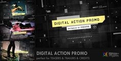 Digital Action Promo — AE Template #movie #dynamic • See it in action → https://videohive.net/item/digital-action-promo/6671509?ref=pxcr