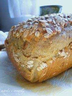 smaki i aromaty: Z dynią, słonecznikien, płatkami owsianymi, ziemniakami i miodem...czyli chleb mocno napakowany