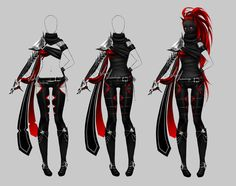 Outfit design - 186 - on hold by LotusLumino on @DeviantArt