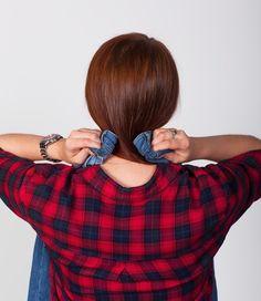 Naučíme vás koupit si správnou velikost kalhot bez nutnosti vyzkoušení – mojekrasa.net Emily Ratajkowski, Plaid Scarf, Victoria's Secret, Turtle Neck, Pairs, Skinny Jeans, Sweaters, Clothes, Life Hacks