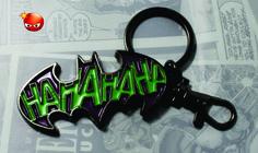 Llavero del Joker con el logo de Batman