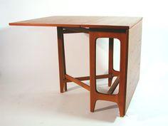 UTOPIA Retro Modern Bendt Winge dining table - Klaffebord nr. 4 - Kleppes Møbelfabrikk -