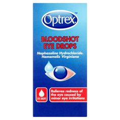 Optrex Bloodshot Eye Drops Bloodshot Eyes Eye Drops Optrex