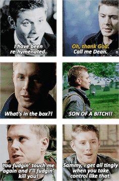 Some of Dean's funny lines