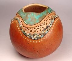 Gourd designs - recessed riverbed