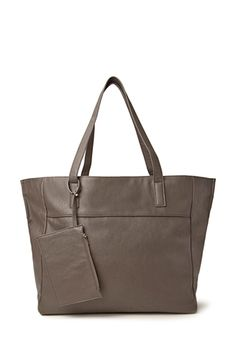 Faux Leather Carry-All   FOREVER21 - 1000083343