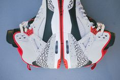 AIR JORDAN SPIZIKE (WOLF GREY/ GYM RED) | Sneaker Freaker