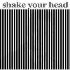 How the hell does this work ?!?<<<< you put a light grey out outline picy thing of what ever you'd like then you put strips over it. When you shake your head you see the grey pic easier.