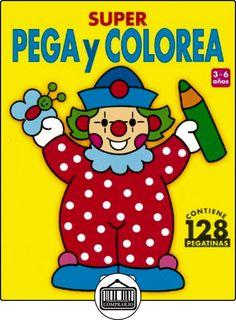 Super Pega Y Colorea - 1 (Súper Pega Y Colorea) de Equipo Susaeta ✿ Libros infantiles y juveniles - (De 0 a 3 años) ✿